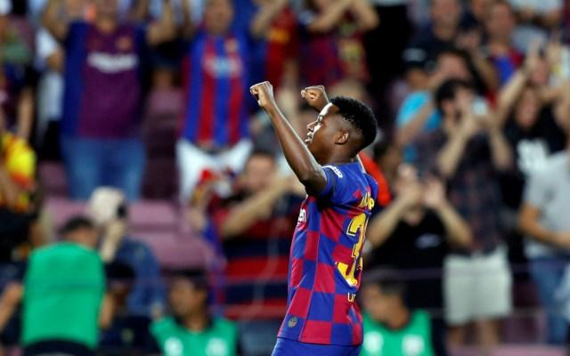 Ansu Fati y Suárez brillan en goleada del Barcelona al Valencia - Foto de Notimex