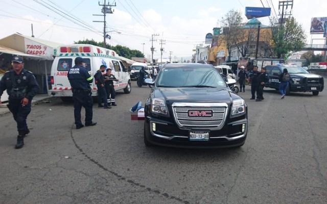 Ejecutan a consejero municipal del PRI en el Estado de México - Asesinato de priista en Nezahualcóyotl. Foto de @l4nd3t4