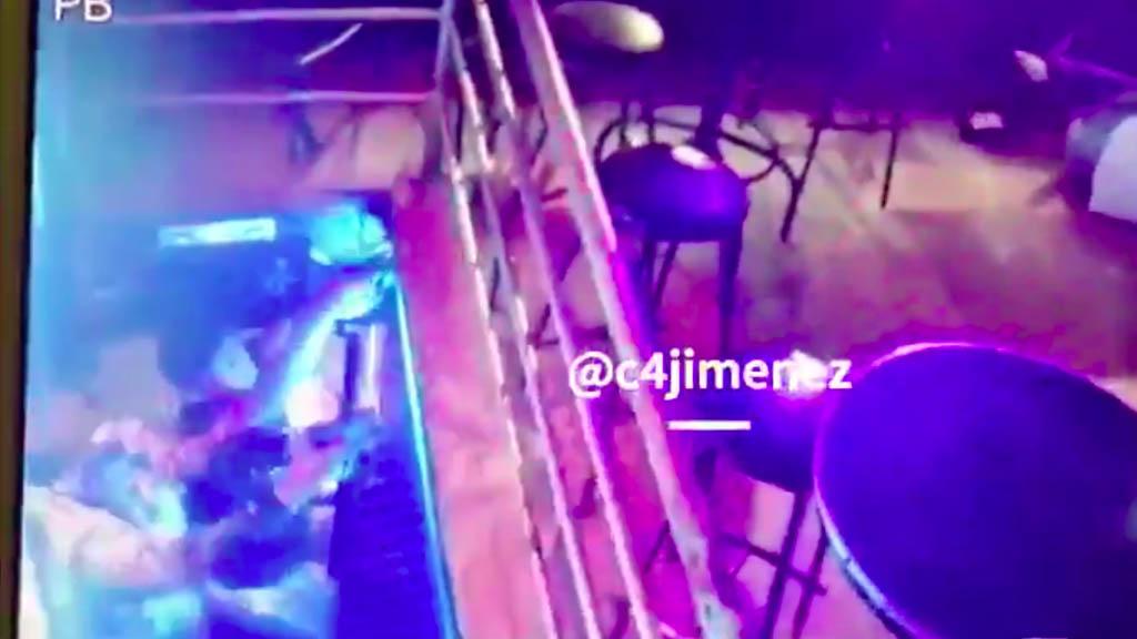 #Video Así fue el ataque armado en bar de Coapa - Ataque bar de Coapa disparos