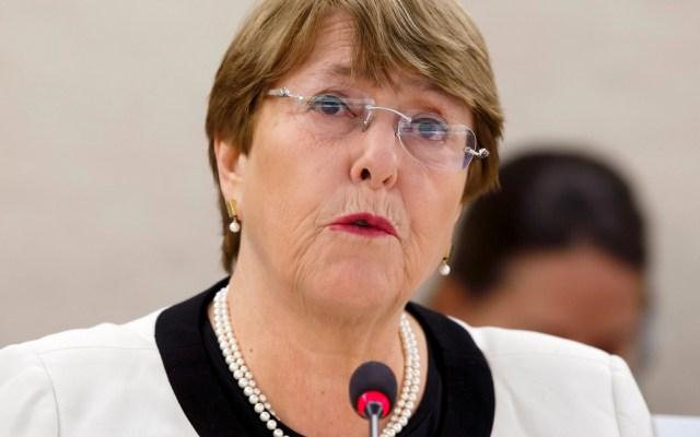 Michelle Bachelet pide a Venezuela liberar a todos los presos políticos - Michelle Bachelet