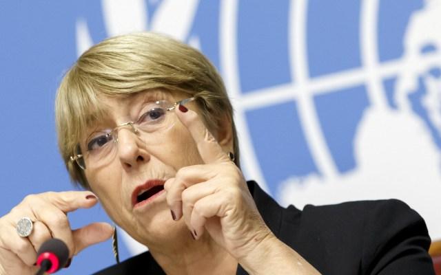 Bachelet denuncia asesinato de opositores a Daniel Ortega - Michelle Bachelet. Foto de EFE