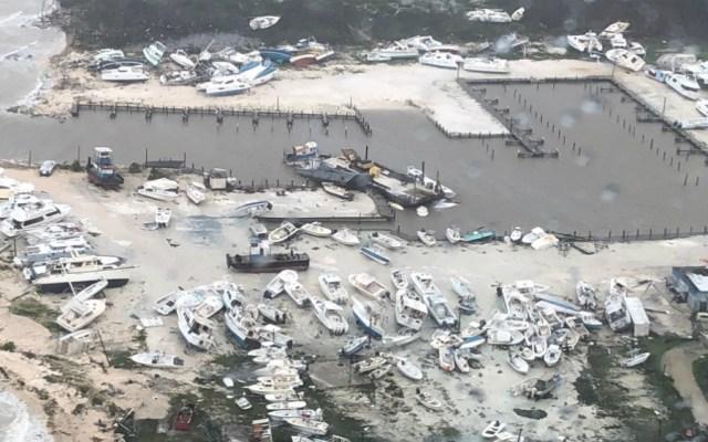 Inicia rescate de personas y traslado de lesionados en Bahamas - Foto de EFE