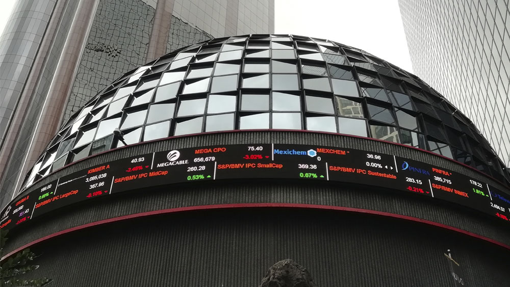 La Bolsa mexicana gana un 1.18 por ciento gracias al impulso del sector de materias primas - Bolsa Mexicana de Valores BMV