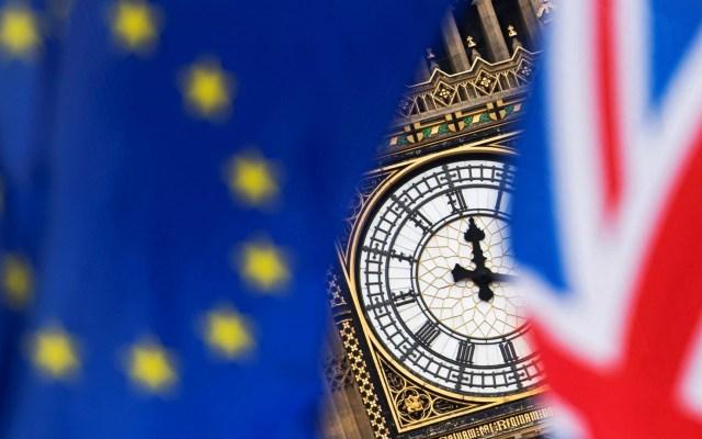 """Reino Unido acusa a Unión Europea de """"dificultar"""" las negociaciones del Brexit - Salida de Reino Unido de la Unión Europea. Foto de EFE"""