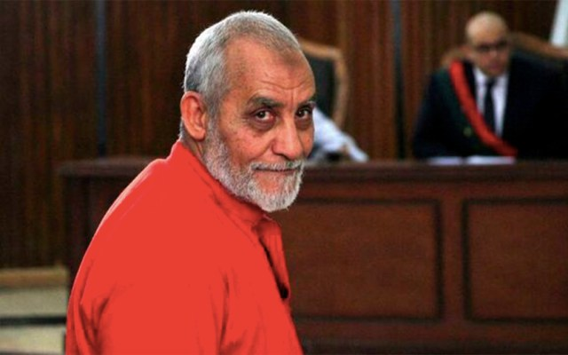 Dictan cadena perpetua contra líder de los Hermanos Musulmanes - cadena perpetua egipto hermanos musulmanes