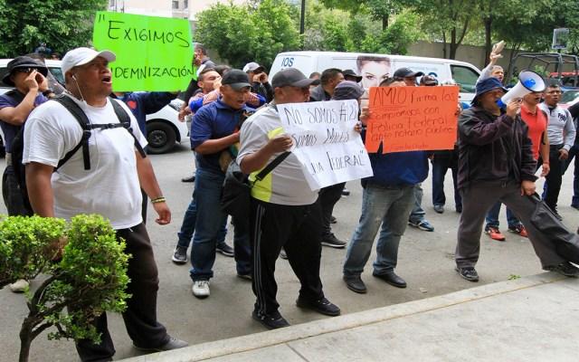 Cancelan manifestación de policías federales en el AICM - cancelan manifestación de policías federales en el aicm
