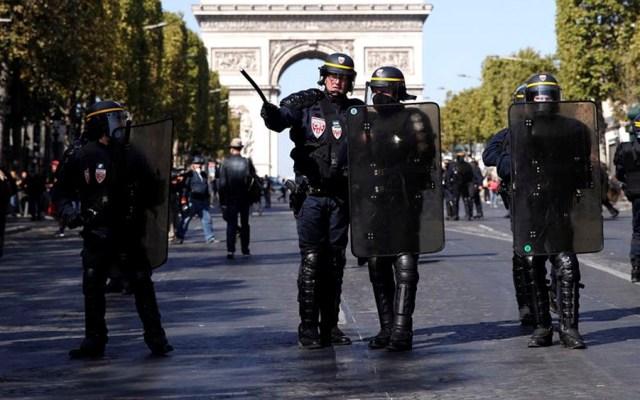 Más de 160 detenidos en protesta de los chalecos amarillos en París - chalecos amarillos paris
