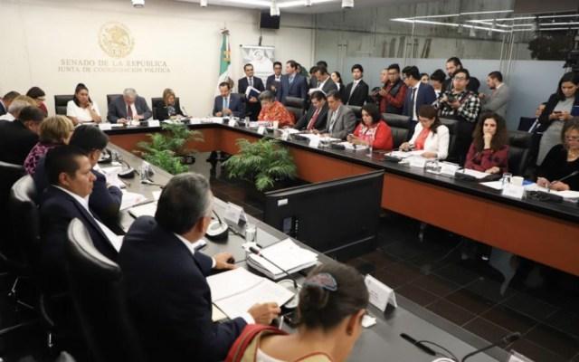 Comisiones del Senado aprueban leyes secundarias de Reforma Educativa - Foto de @NoticiaCongreso