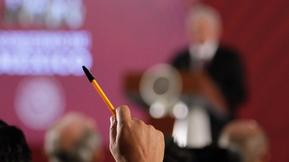 Premio Nacional de Protección Civil 2019 - 90918014. México. 19 Sep 2019 (Notimex-Alejandro Guzmán).- El día de hoy en conferencia matutina se habló sobre la participación de toda la república en el macrosimulacro que se llevará acabo el día de mañana. Ciudad de México, 19 de septiembre de 2019. NOTIMEX/FOTO/ALEJANDRO GUZMÁN/AGH/POL/4TAT