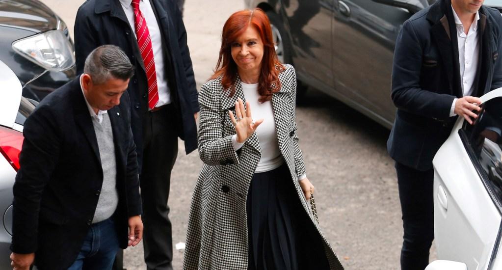 Envían a juicio a la ex presidenta argentina Cristina Fernández - Cristina Fernández