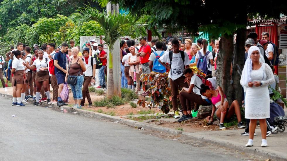 #Video Caos por falta de combustible en Cuba - Falta de combustible en Cuba