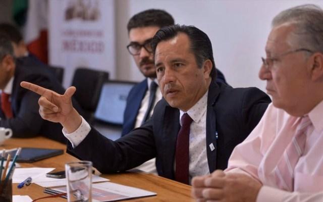 Cuitláhuac García se deslinda de separación temporal de Winckler - Cuitláhuac García Veracruz