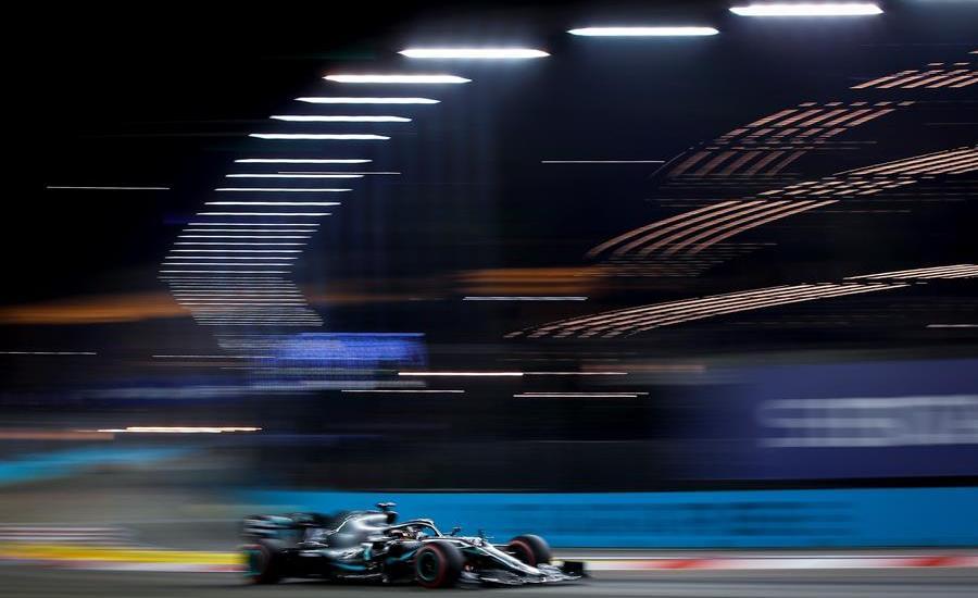 Reflejos del GP de Singapur 2019 - Foto de EFE