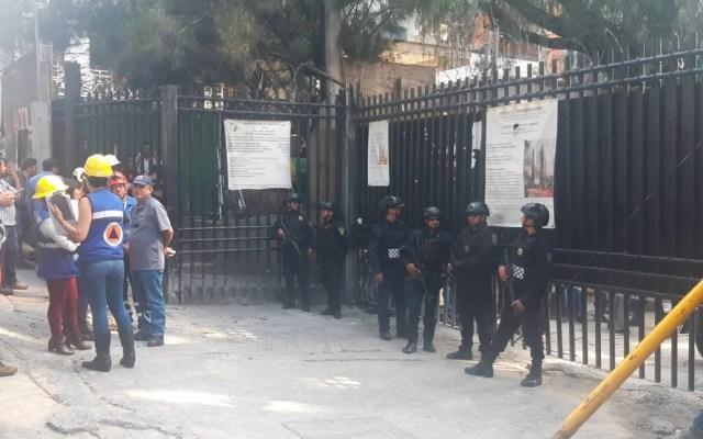 Derrumbe en construcción deja un muerto y un herido en Álvaro Obregón - Derrumbe construcción