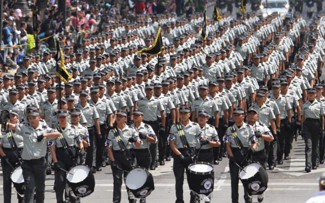 Desfile Militar por el 209 aniversario del inicio de la Guerra de Independencia - Parada militar encabezada por la Guardia Nacional y en el que participarán 12 mil 492 elementos