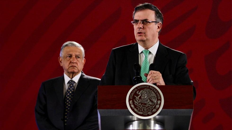 Mejor aportación de EE.UU. a México es frenar tráfico de armas: Ebrard - Flujo de migrantes se redujo 58.7 por ciento: Ebrard