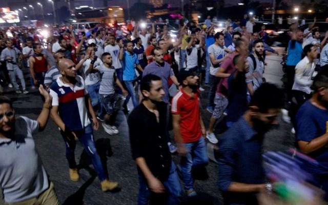 Más de mil personas en prisión preventiva tras comienzo protestas en Egipto - Foto de EFE