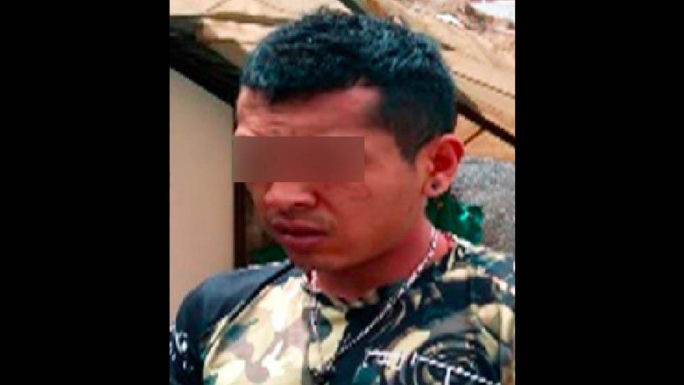 Detienen a 'El Michoacano', presunto miembro de Guerreros Unidos - Foto de FGE Puebla