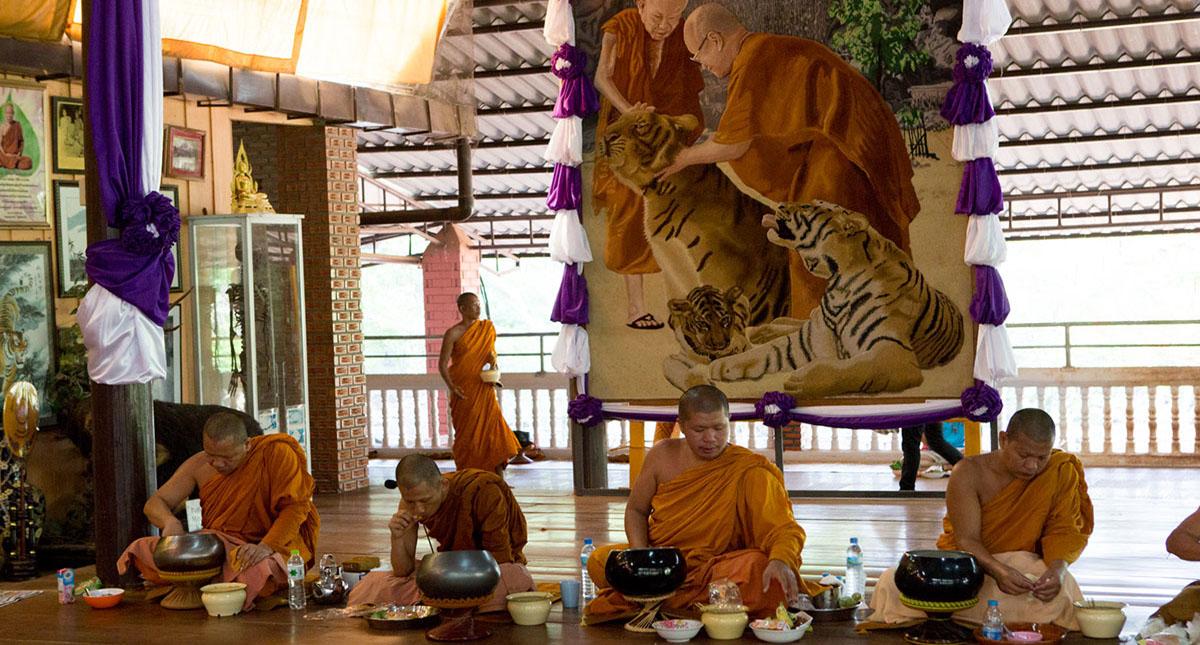 El Templo del Tigre fue fundado en 1994 como un 'monasterio'. Foto de Al Jazeera