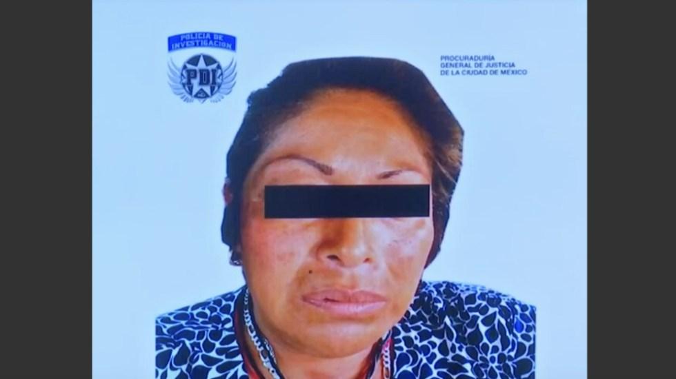 Confirma PGJ CDMX detención de 'La Bruja' - Foto de PGJ CDMX