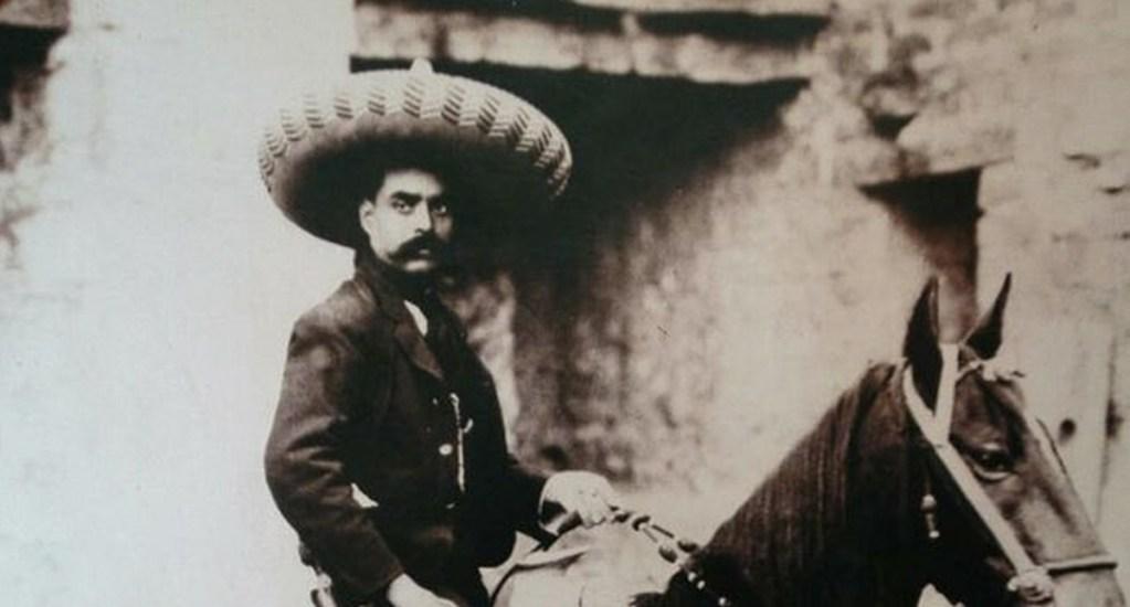 Denuncian desaparición de acta de defunción de Emiliano Zapata - Foto de EFE