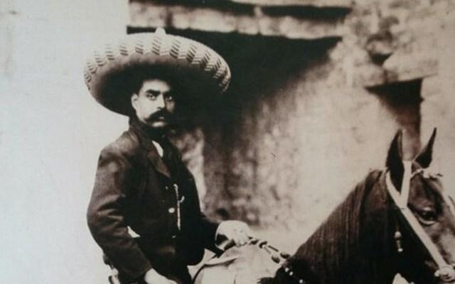 Aparece acta de defunción extraviada de Emiliano Zapata - Foto de EFE