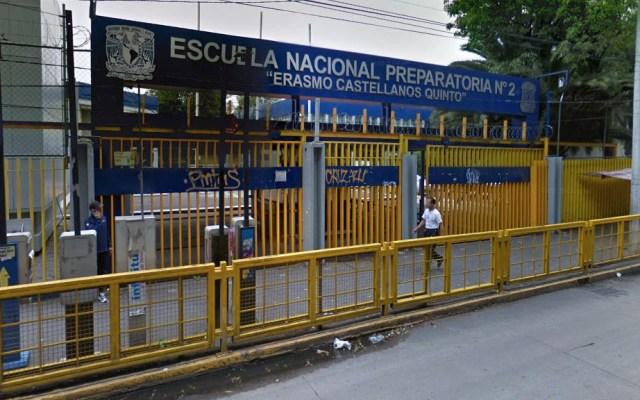 Escuelas de la UNAM entran en paro por aniversario de caso Ayotzinapa - ENP Escuela Nacional Preparatoria 2