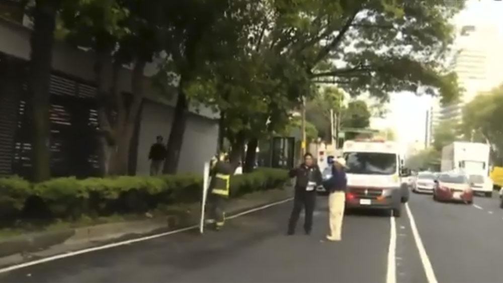 Explosión en departamento deja un herido enla Portales - Explosión en departamento deja un herido enEje 8 Sur