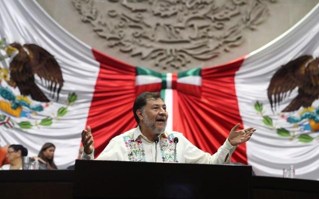 """""""Error gravísimo"""" que PRI encabece Cámara de Diputados: Fernández Noroña - Gerardo Fernández Noroña. Foto de Notimex"""