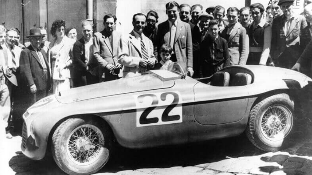 Ferrari 166 MM Le Mans 1949