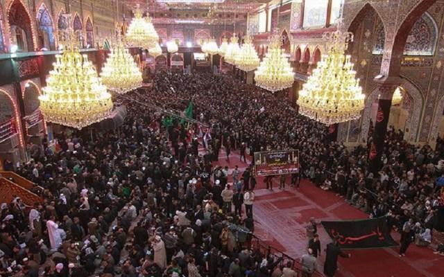 Estampida durante festividad religiosa deja 31 muertos en Irak - Festividad religiosa Ashura, en Kerbala, Irak. Foto de Shafaqna