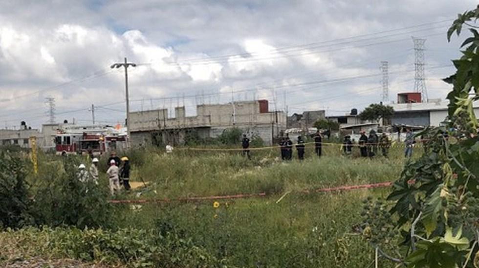 Controlan fuga de gasolina en toma clandestina de Ecatepec - Foto de Milenio
