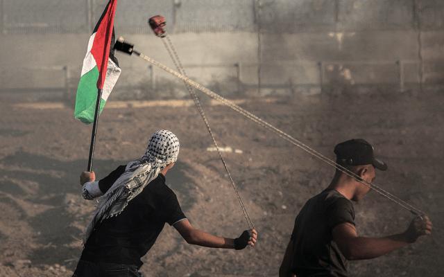 Protestas en Gaza dejan al menos 48 heridos - Foto de EFE