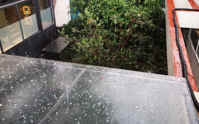 Alerta Amarilla por lluvia y granizo en ocho alcaldías