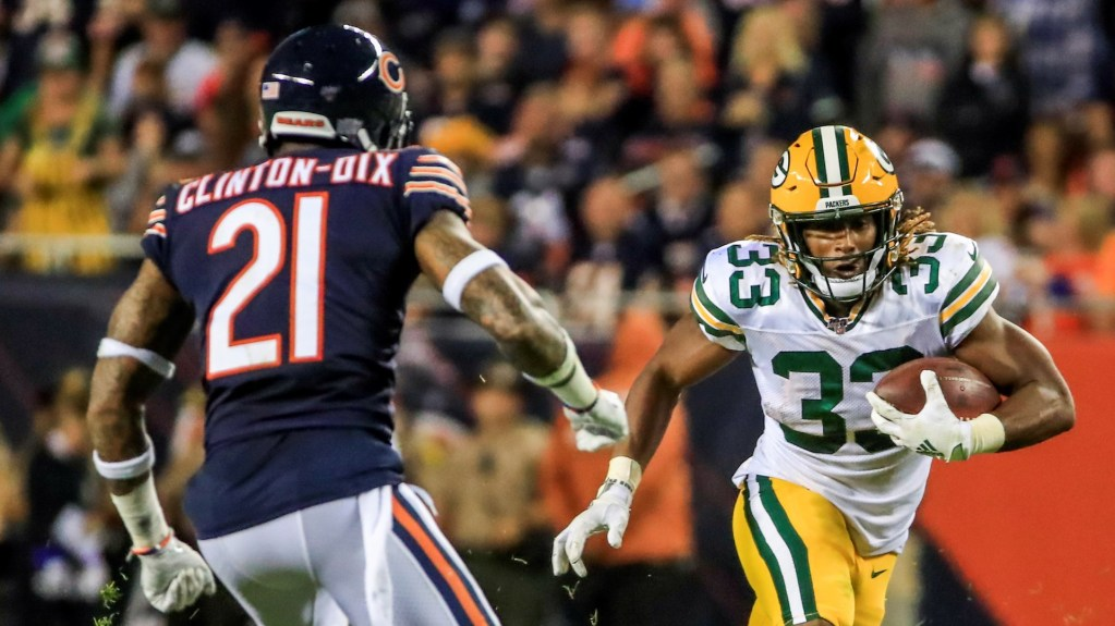 Green Bay vence a Chicago en kickoff de temporada 100 de NFL - Foto de EFE/EPA/TANNEN MAURY.