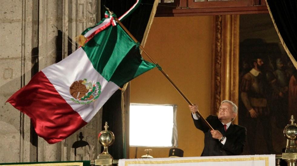 López Obrador da Grito más largo de una administración federal - grito amlo