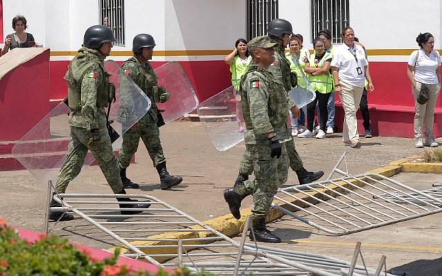 México suspende actividades en estación migratoria de Tapachula - Foto de EFE