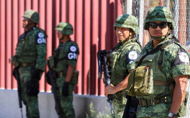 Guardia Nacional encabezará desfile patrio del 16 de septiembre - guardia nacional