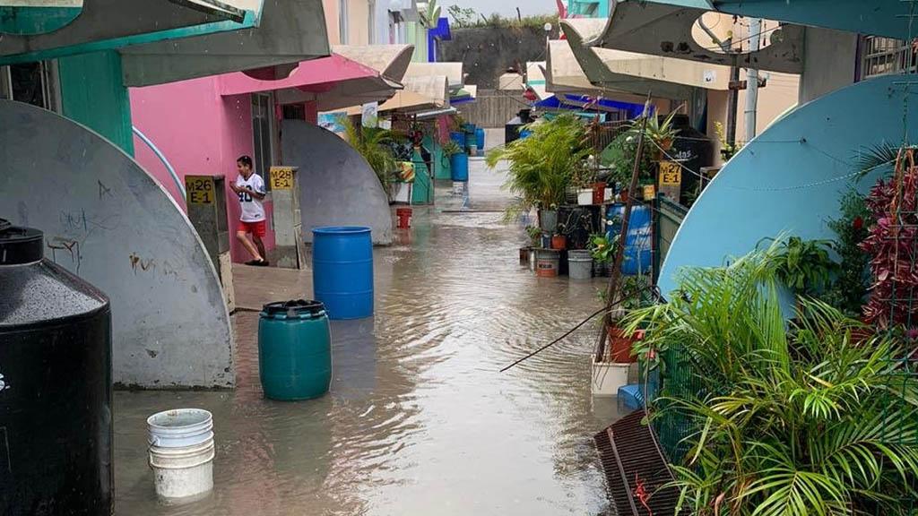 Depresión Cuatro-E evoluciona a la tormenta tropical Dolores - Refugios Guerrero Lluvias inundaciones