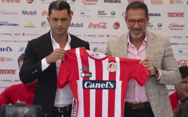 Matosas, nuevo técnico de San Luis - Gustavo Matosas durante la presentación oficial como Nuevo Director Tecnico del Equipo Atlético San Luis. Foto de Mexsport.
