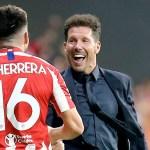 Simeone, 200 triunfos de Liga en datos - Héctor Herrera simeone