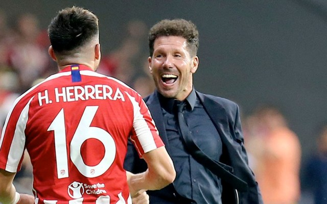 Simeone confirma titularidad de Héctor Herrera ante el Betis - Héctor Herrera simeone