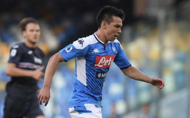 Napoli vence a Sampdoria en presentación de 'Chucky' Lozano en San Paolo - Hirving Lozano Napoli Chucky