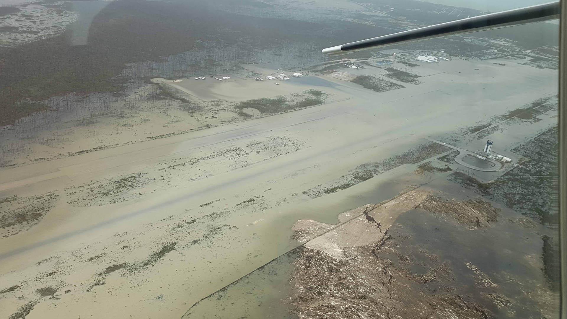 Huracán Dorian Bahamas daños
