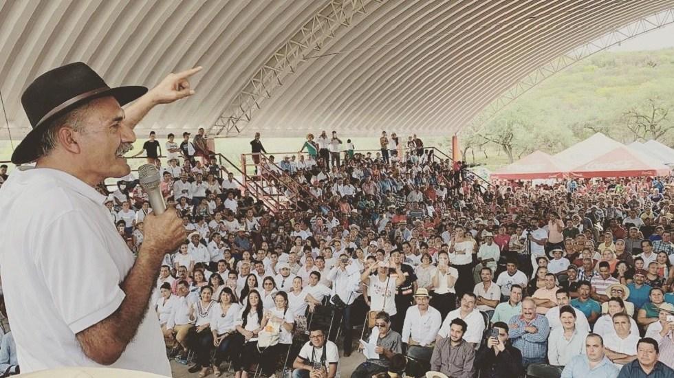 Se deberán tomar acciones ante dichos de Mireles: director del ISSSTE - José Manuel Mireles en acto público. Foto de @DrJMMireles