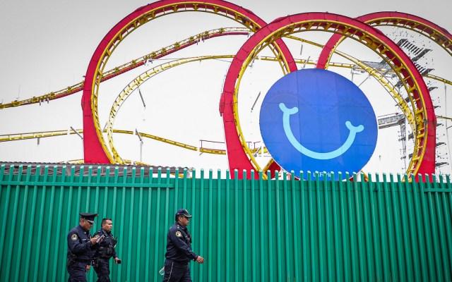 PGJ investigará error humano en Feria de Chapultepec: Víctor Hugo Romo - Juego 'Quimera' de la Feria de Chapultepec. Foto de Notimex