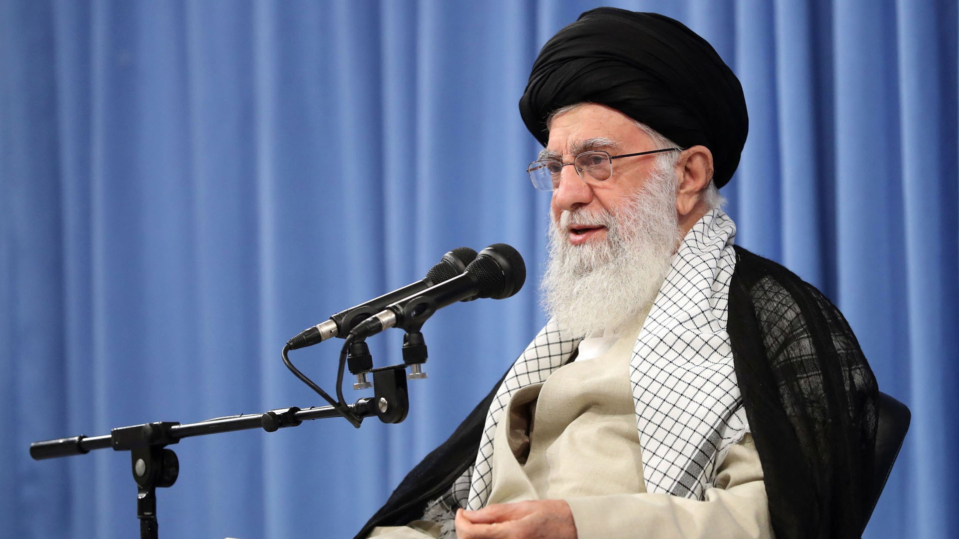 Líder supremo de Irán, Ali Jameneí. Foto de EFE