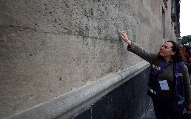 #Video Limpian pintas en Palacio Nacional - limpian palacio nacional por pintas
