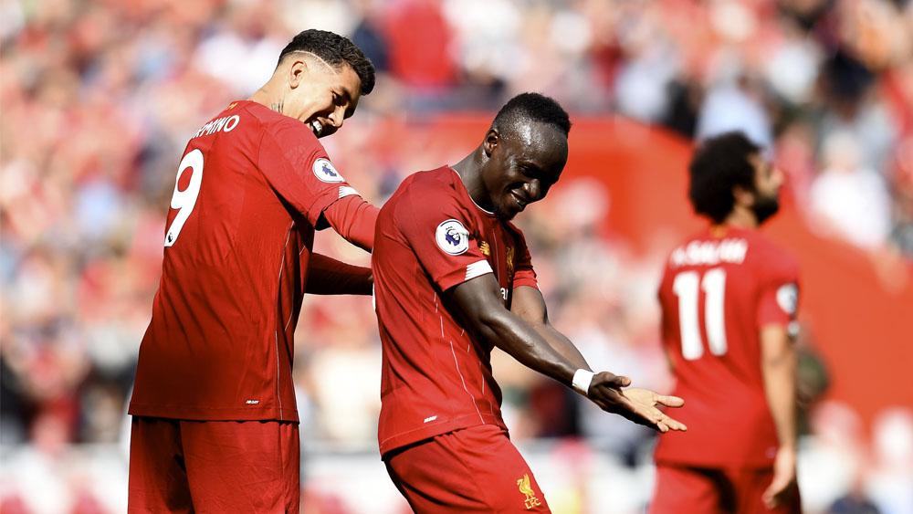 Mané y Firmino dan victoria al Liverpool contra el Newcastle - liverpool newcastle