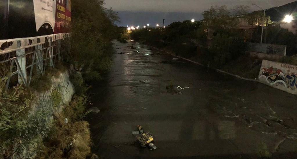 'Fernand' provoca deslaves y crecida de ríos en Nuevo León - Lluvia Nuevo León Fernand